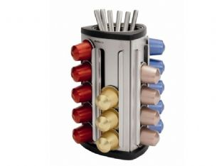 Brabantia - Nespresso Coffee Capsule Dispenser (Dishwasher Friendly) - 41-87-09